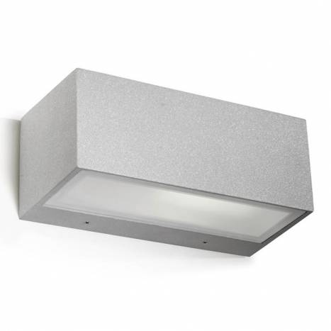LEDS-C4 Nemesis E27 outdoor wall lamp grey