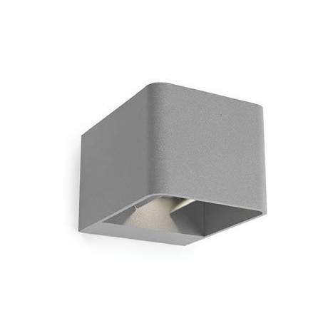 LEDS-C4 Wilson outdoor wall lamp LED 6w grey