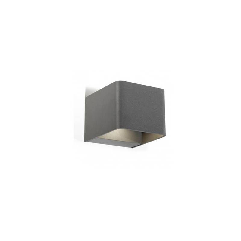 LEDS-C4 Wilson outdoor wall lamp LED 6w anthracite