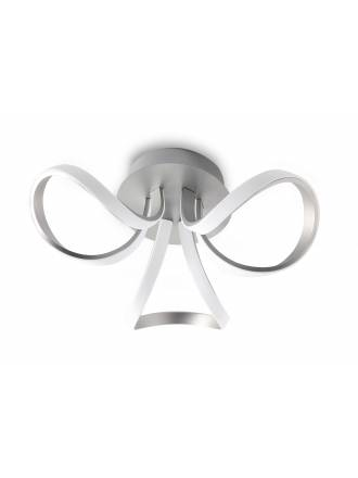Mantra Knot ceiling lamp LED 36w aluminium