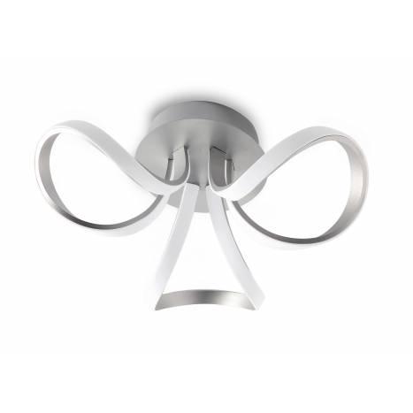 Mantra Knot ceiling lamp LED 36w aluminium
