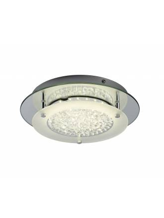 Mantra Crystal ceiling lamp LED 12w round