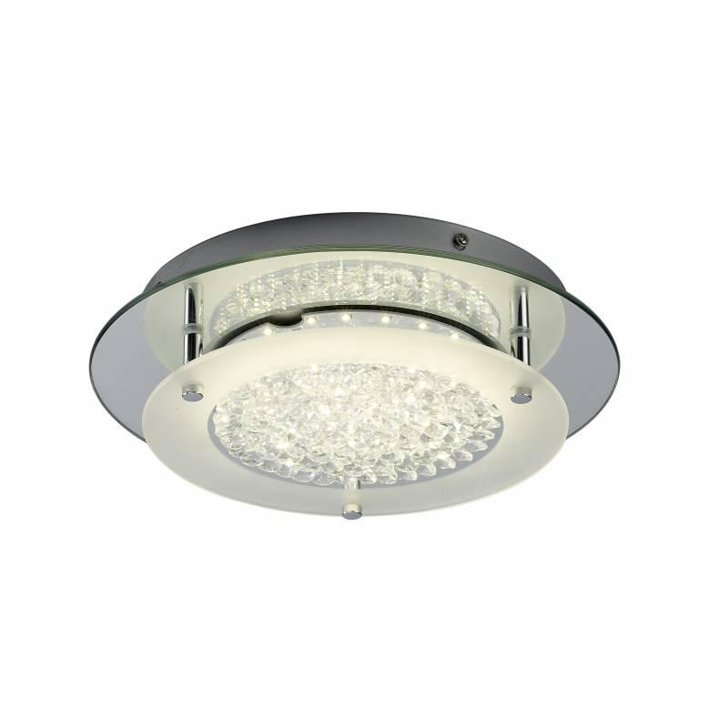 Plafon de techo Crystal LED 12w redondo de Mantra