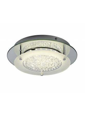 Plafon de techo Crystal LED 21w redondo de Mantra