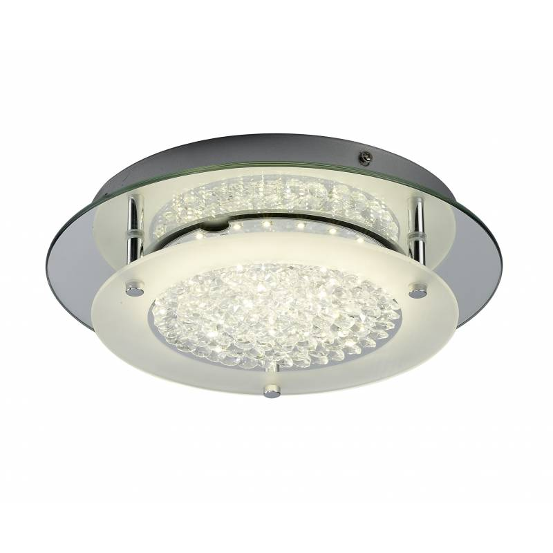 Mantra Crystal ceiling lamp LED 21w round 45cm