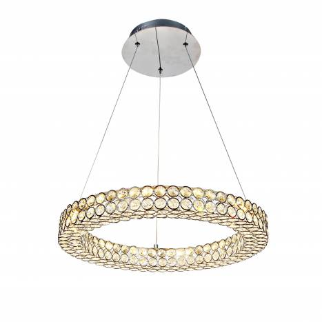 Lampara colgante Crystal LED 24w 50cm de Mantra