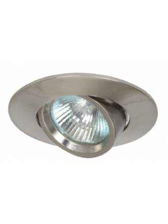 Foco empotrable 203 circular acero inox