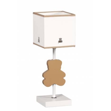 GLOBAL LUZ Bear table lamp brown lampshade