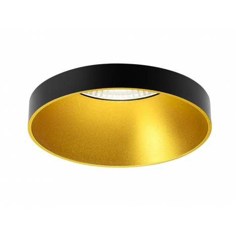 ONOK Ringo 01 round recessed light black and gold