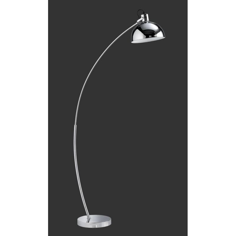 Trio Recife floor lamp 1L chrome metal