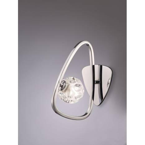 Mantra Lux wall lamp 1L chrome