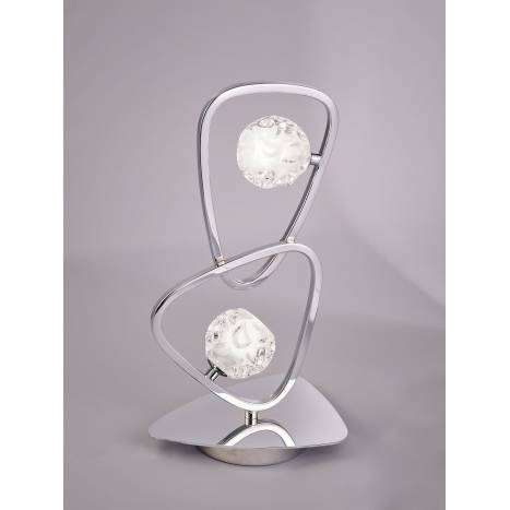 Mantra Lux table lamp 2L chrome