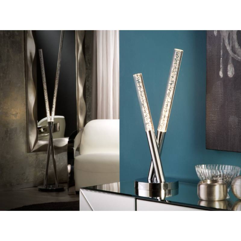 Schuller Cosmo table lamp LED chrome