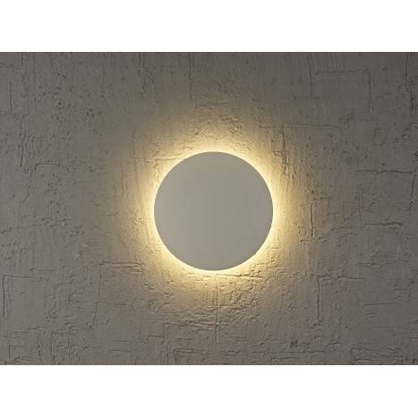 Aplique de pared Bora Bora LED redondo blanco de Mantra
