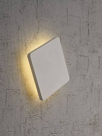 MANTRA Bora Bora wall lamp LED square white