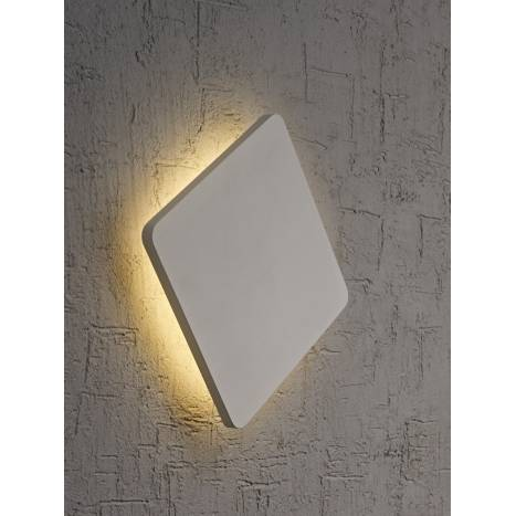 MANTRA Bora Bora wall lamp LED square silver