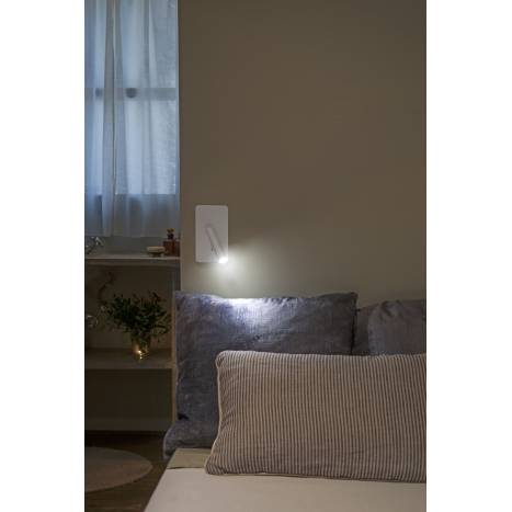 FARO Suau wall lamp LED grey