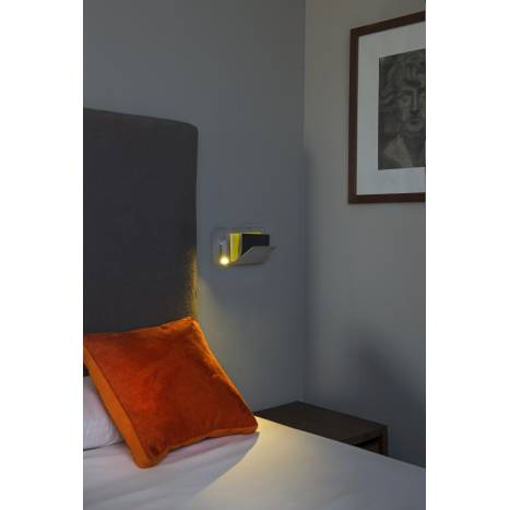 FARO Suau right wall lamp LED USB grey
