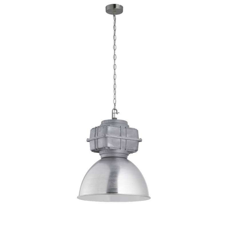 L mpara de techo maniac 1 luz aluminio trio - Luz de techo ...