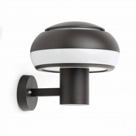 FARO Boletus wall lamp dark grey
