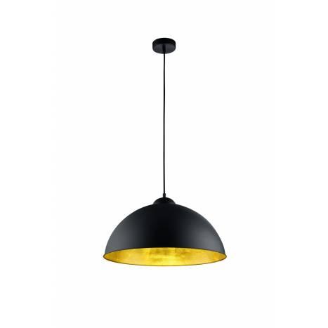TRIO Romino II pendant lamp 1L metal