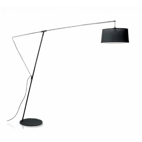Mantra nordica extensible black floor lamp aloadofball Choice Image