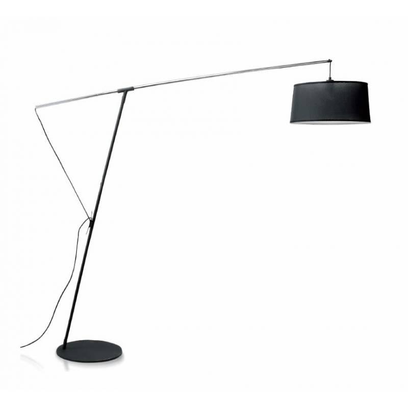 MANTRA Nordica extensible black floor lamp