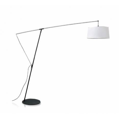 MANTRA Nordica extensible white floor lamp