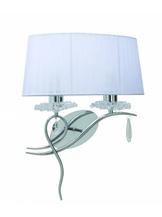 MANTRA Louise wall lamp 2L