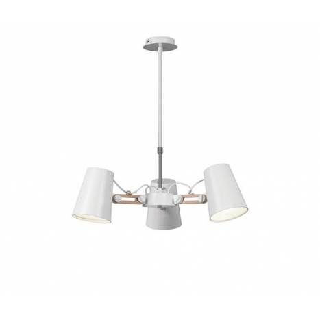 Mantra Looker pendant lamp 3 arms