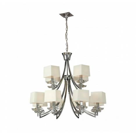 Mantra Akira ceiling lamp 12L cream shade