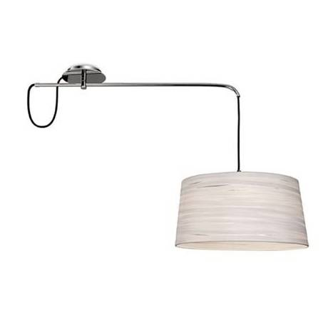 LEDS-C4 Magma ceiling lamp 1L white fabric shade