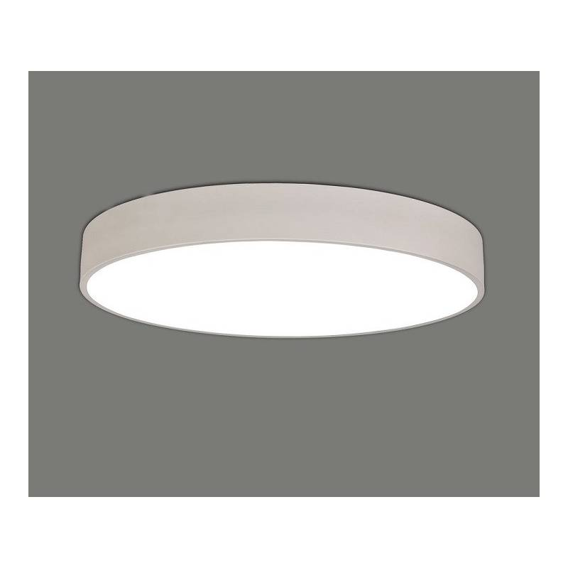 Plaf n de techo isis led metal blanco daviu - Techos de plafon ...