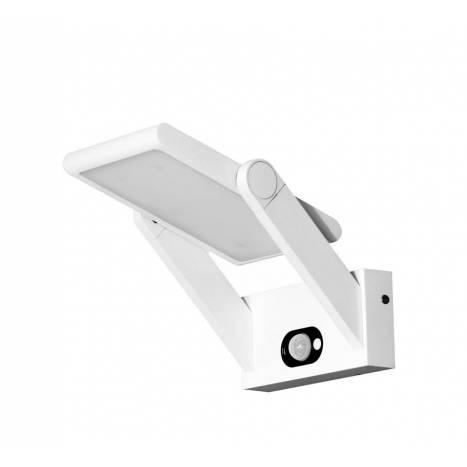 Aplique de pared Proa 2,5w LED solar blanco de Beneito Faure
