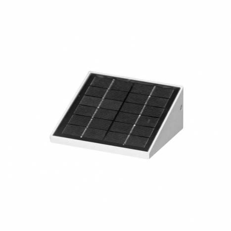 Aplique de pared Iris 2,5w LED solar blanco de Beneito Faure