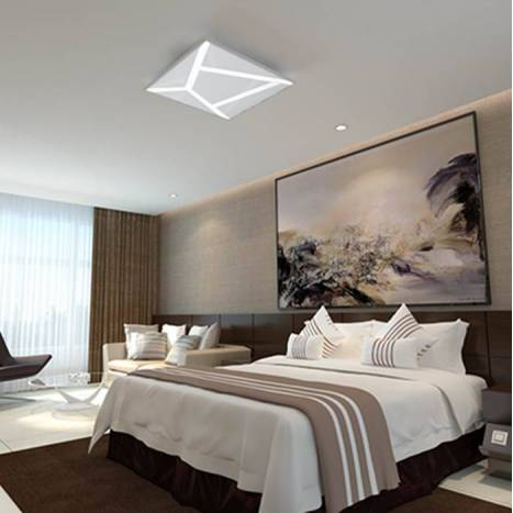 OLE by FM Stripes ceiling lamp LED white