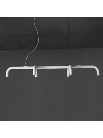 Lampara colgante Tube 90cm LED 6 luces de Ole