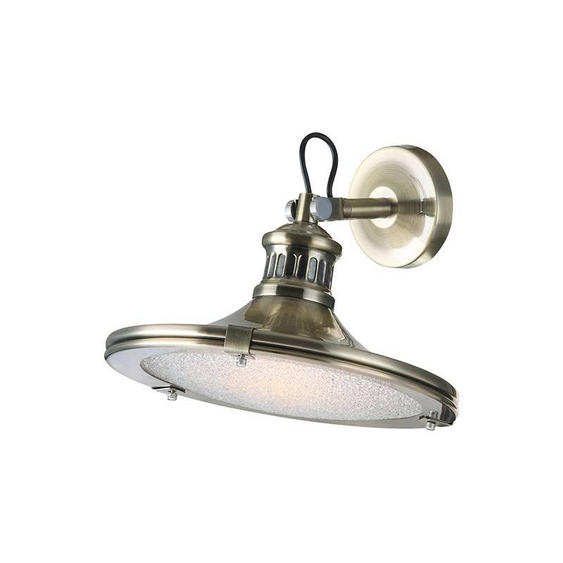 SULION Vintage 1L wall lamp brass