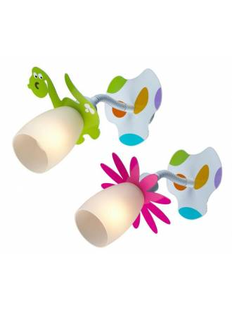 Aplique de pared Nature 1 luz infantil - Sulion