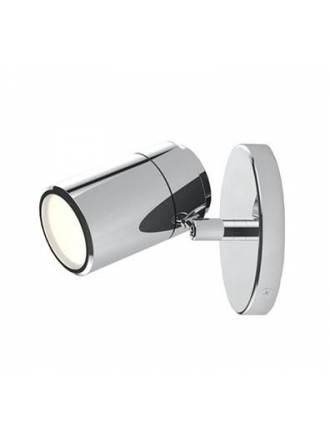 Aplique de pared Confort 1 luz LED cromo de Sulion
