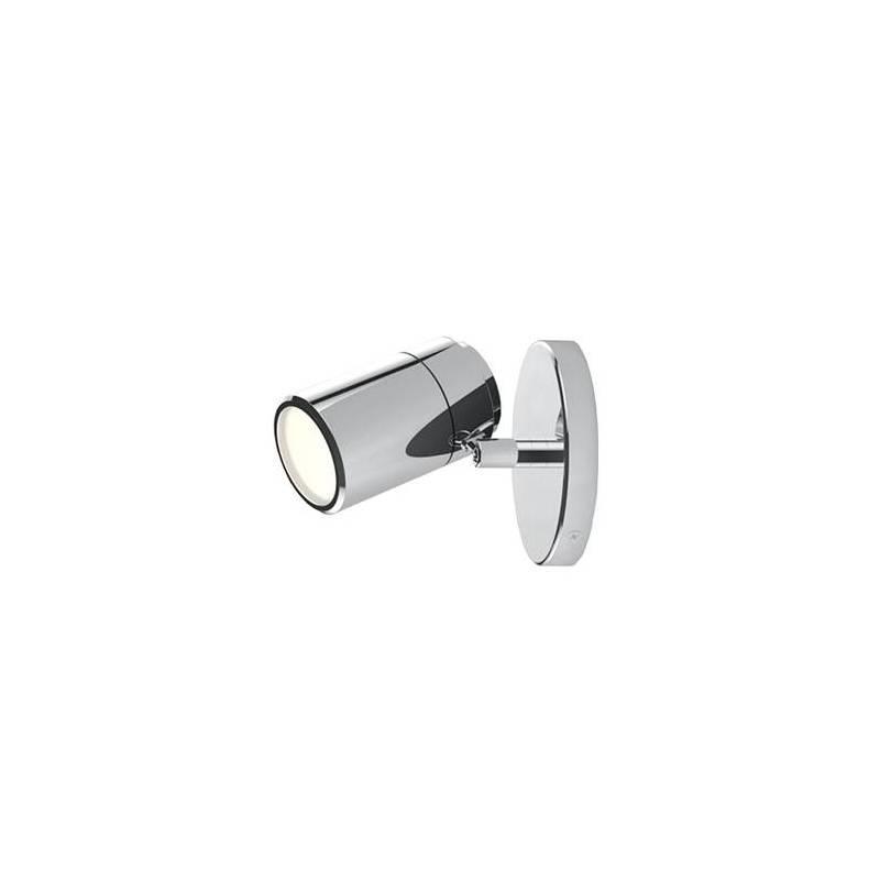 Aplique de pared Confort 1 luz LED cromo de Sulion