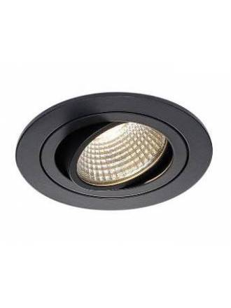 BPM Mini Catli round recessed light black