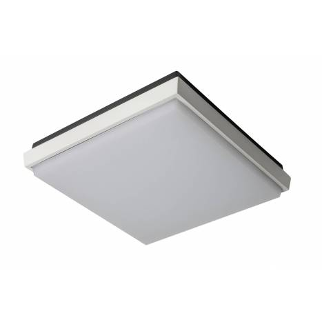 Plafon de techo Fix Square LED IP54 blanco de Sulion