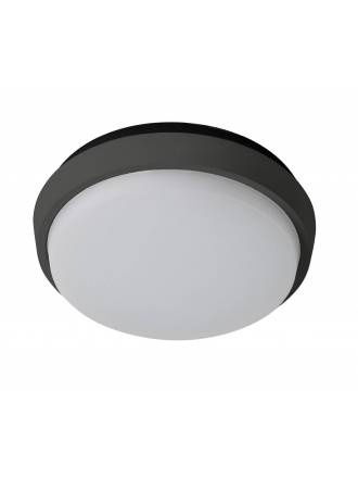 Plafon de techo Fix Round LED IP54 antracita de Sulion