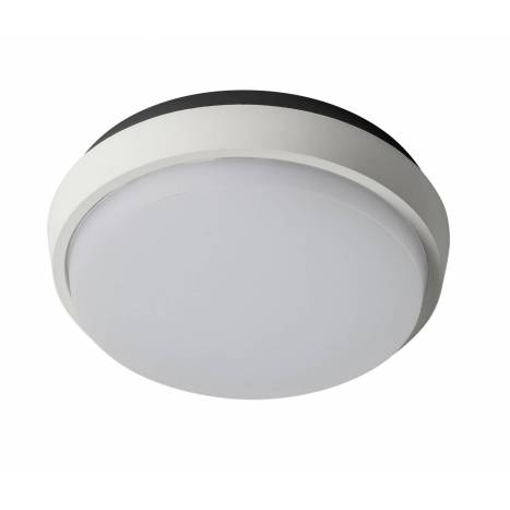 Plafon de techo Fix Round LED IP54 blanco de Sulion