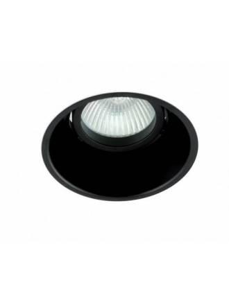 BPM Koni recessed light black aluminium