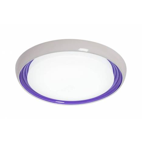 SULION Roms purple ceiling lamp LED 18w dimmable