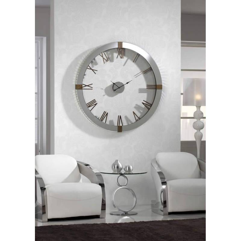 Reloj de pared times schuller for Relojes de salon modernos