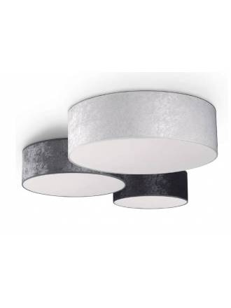 MASSMI Quasar ceiling lamp velvet colors