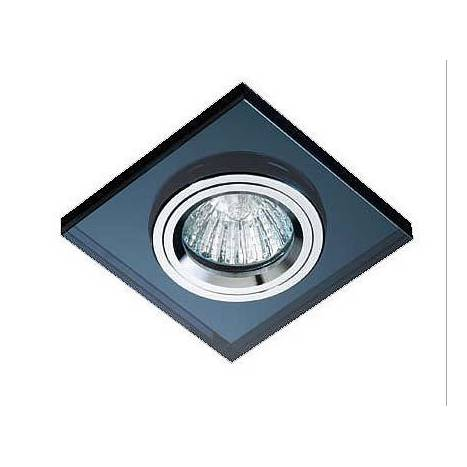 Cristalrecord luxor square recessed light black glass aloadofball Images